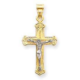 2 tone crucifix 2