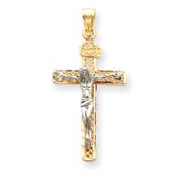 2 tone crucifix C1997