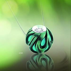 4200 pendant necklace pearl diamond