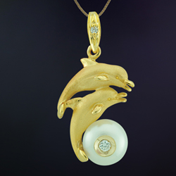 Dolphin Pendant 4133