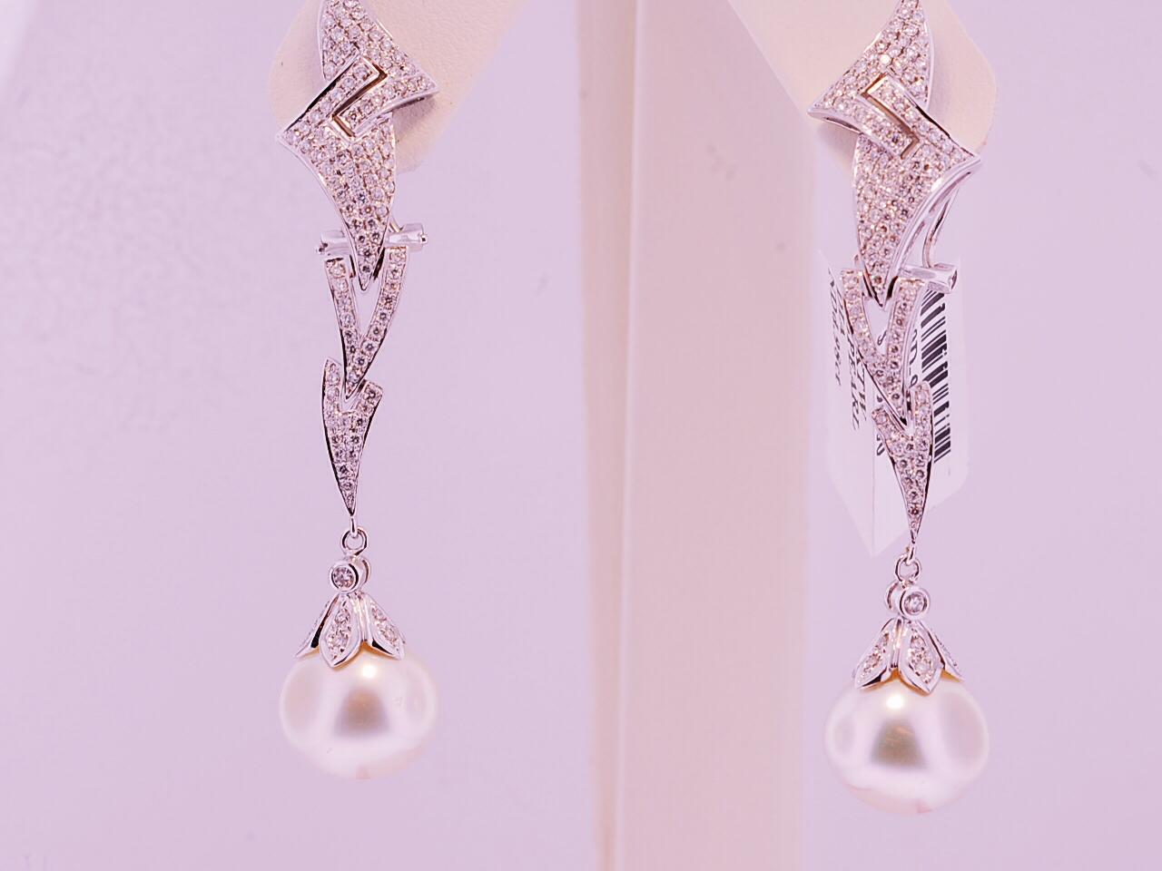 a 48 pearl earrings