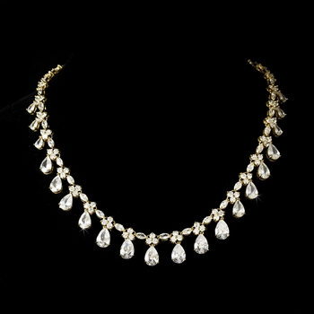 accent gold necklace