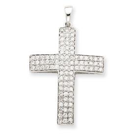 white gold diamond Cross XP3298A
