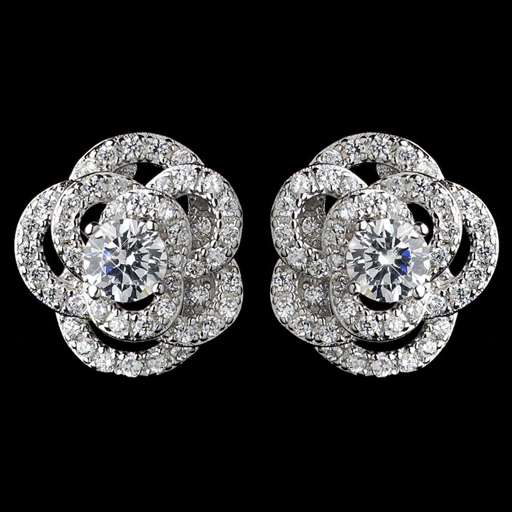 rhodium-clear-cz-crystal-atomic-rose-stud-earrings-9206-4