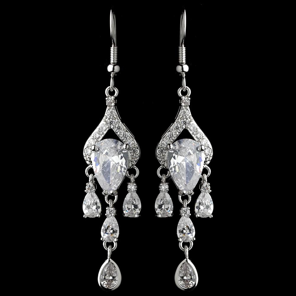 rhodium-clear-cz-crystal-pear-chandelier-earrings-9212-4