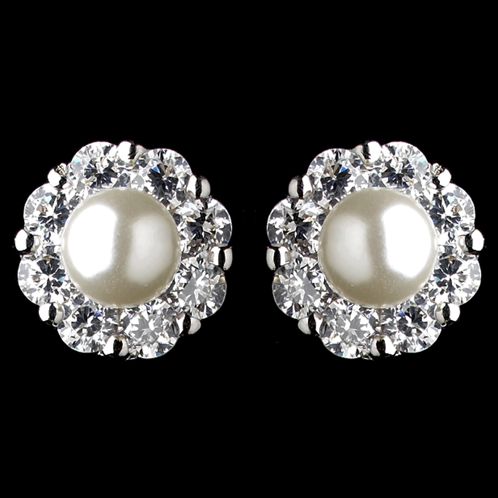 rhodium-diamond-white-pearl-rhinestone-flower-stud-earrings-9869-4
